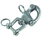 Snap shackle with fork 128mm