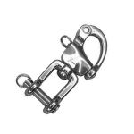 Snap shackle with fork 87mm