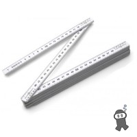 Fiberglass foldable ruler