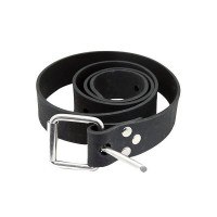 Rubber belt for ankle weight.