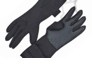 Commercial divers gloves