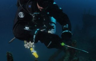 Technical diver with some of our products